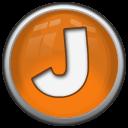 Glossy J Button
