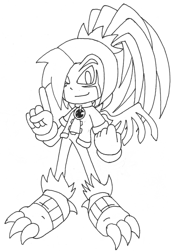 chaos emerald coloring pages - photo#18