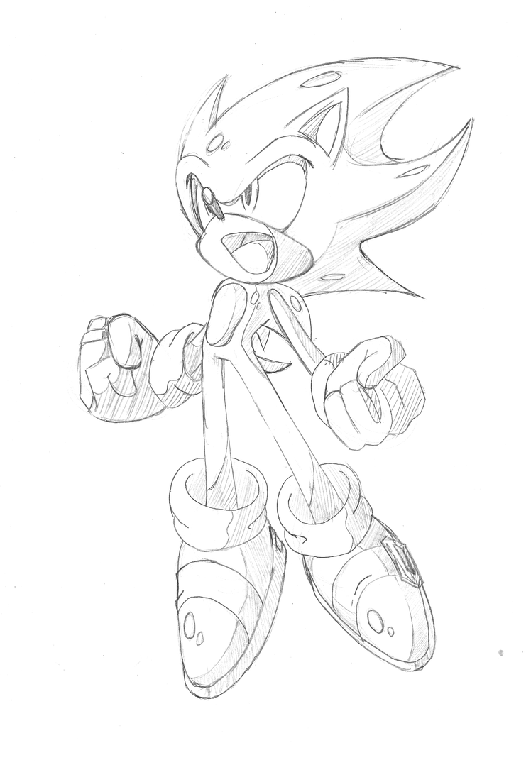 sonic_2_super_sonic_by_nailthehedgehogpng super sonic and super shadow coloring pages images - Classic Super Sonic Coloring Pages