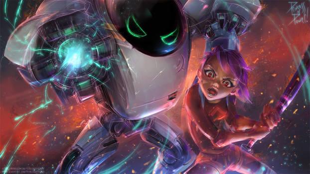Next Gen Robot 7723 fanart! by pr1ncessofpower