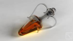 Glowing Bottle by StoneKeeper