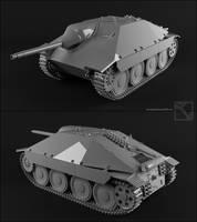 Jagdpanzer 38(t) Hetzer by StoneKeeper