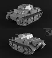 PzKpfw II Luchs by StoneKeeper