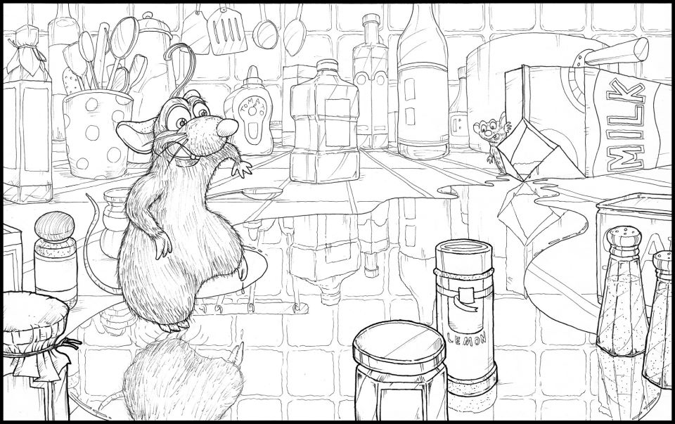 one point perspective refrection by tossynkm on deviantart