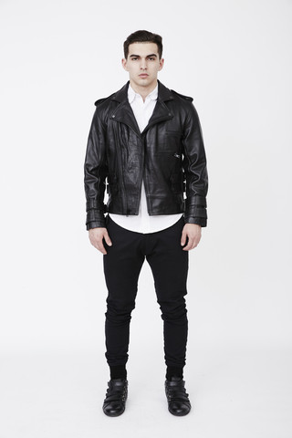 Leather biker Jackets for Men by terrywinston