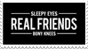Real Friends stamp by AsTheStarsFell