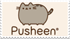 Pusheen stamp by AsTheStarsFell