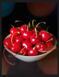 -sweet cherries