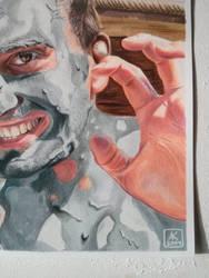 Mud Portrait - Detail