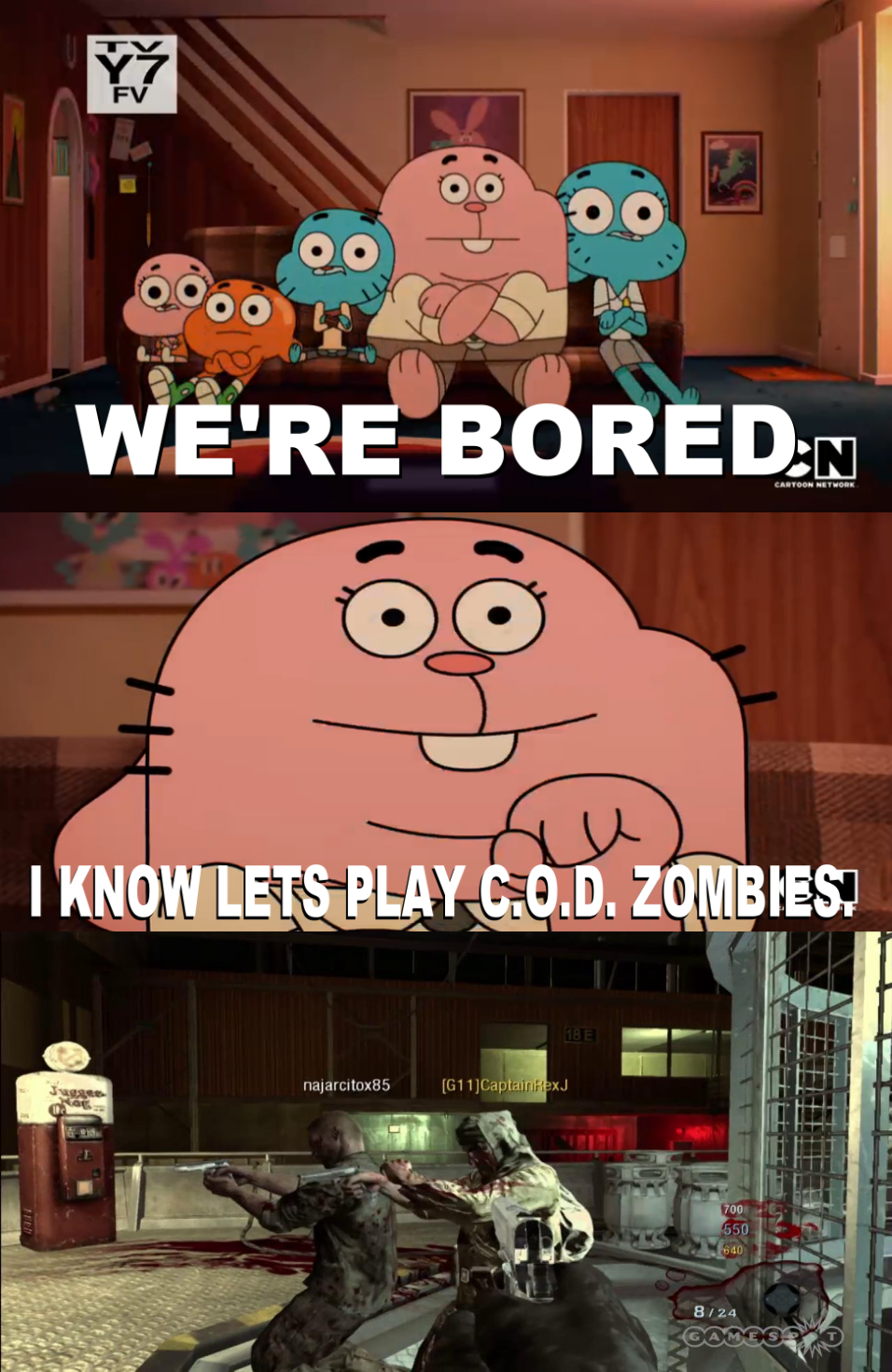 the_wattersons_plays_call_of_duty_zombies_meme_by_josael281999 d8pb6xo the wattersons plays call of duty zombies meme by josael281999 on
