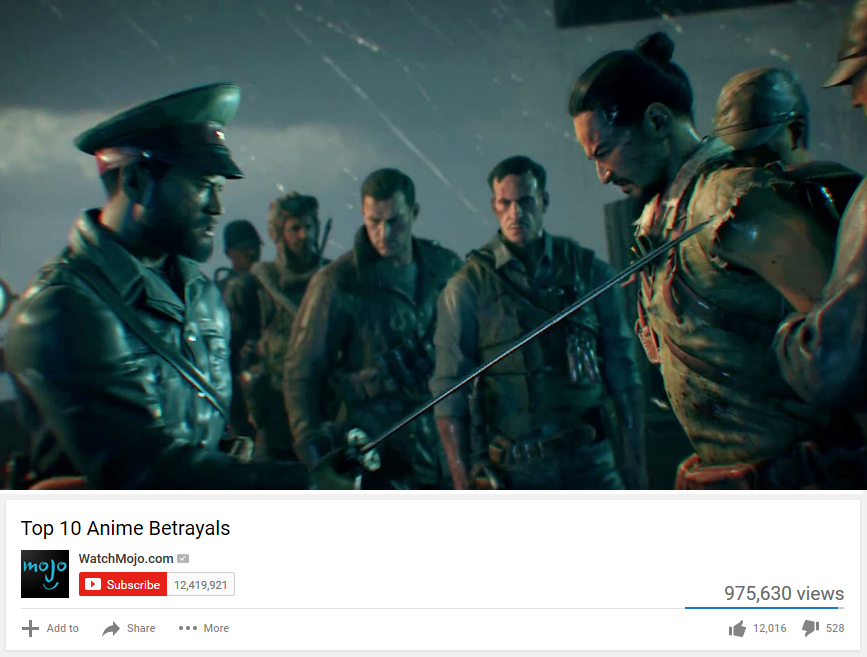 top 10 anime betrayals zetsubou no shima meme by josael281999 on deviantart