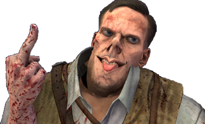 BOIIZ:Richtofen giving you the middle finger by Josael281999