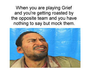 Playing Grief Takeo Mocking Meme by Josael281999