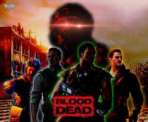 BOIIIIZ:Blood of the Dead Keyboard Wallpaper by Josael281999