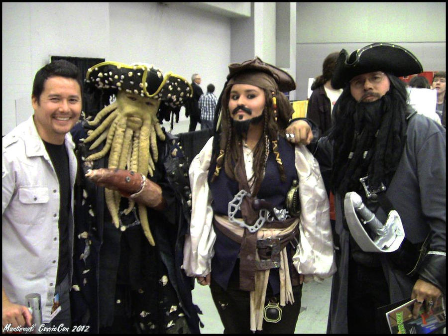 Holding Johnny Yong Bosch Hostage - PotC by Neversprout
