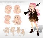 'Prophet Girl' Design Sheet