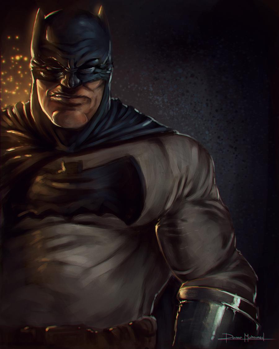 The Dark Knight Returns by DanarArt