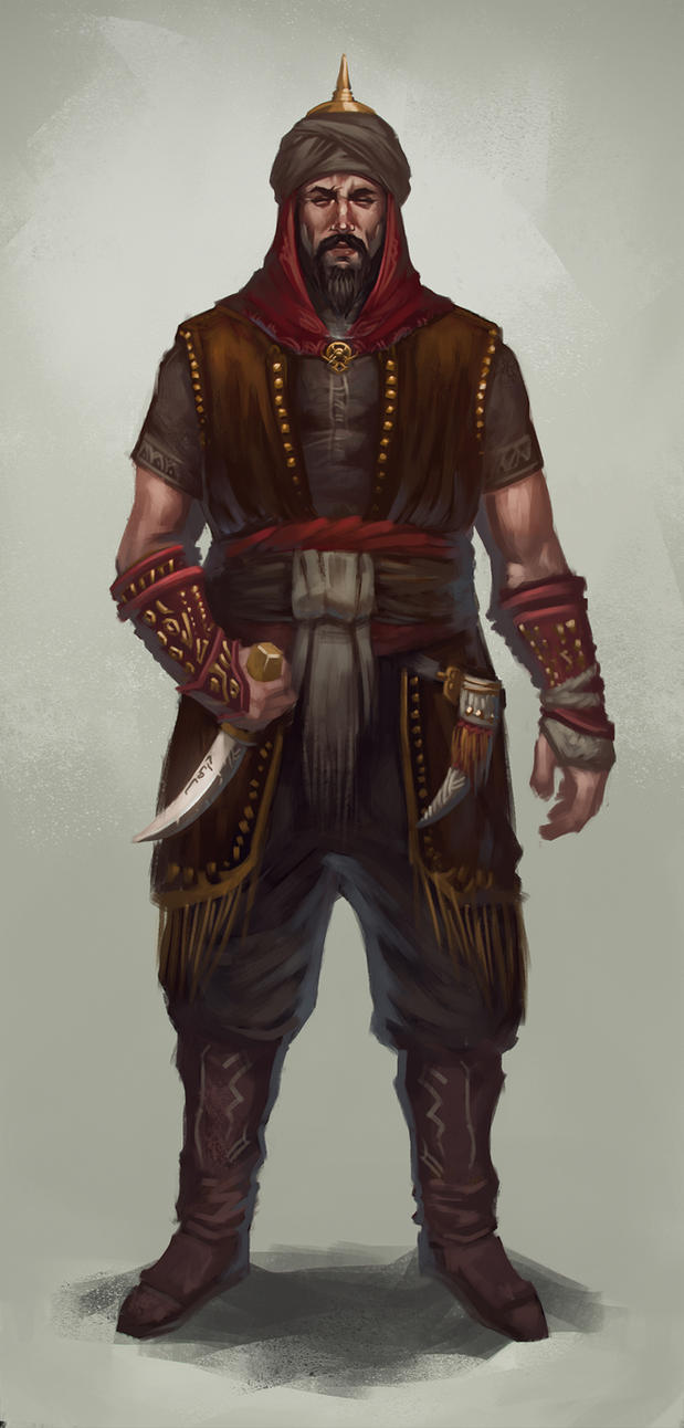 Saladin the Great by DanarArt