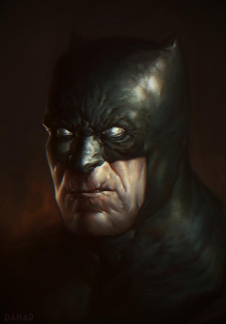 Dark knight Returns Portrait by DanarArt