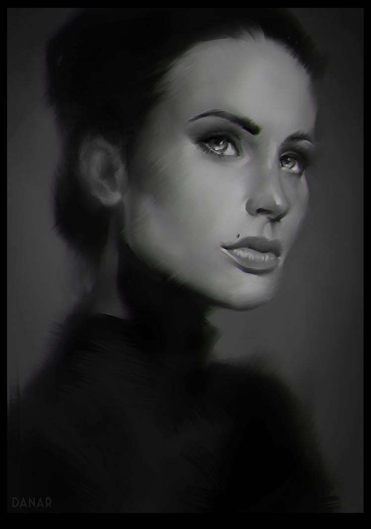 madame belle by DanarArt