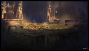 Ancient Ruins by DanarArt