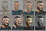 Progress of RAGNAR painting.