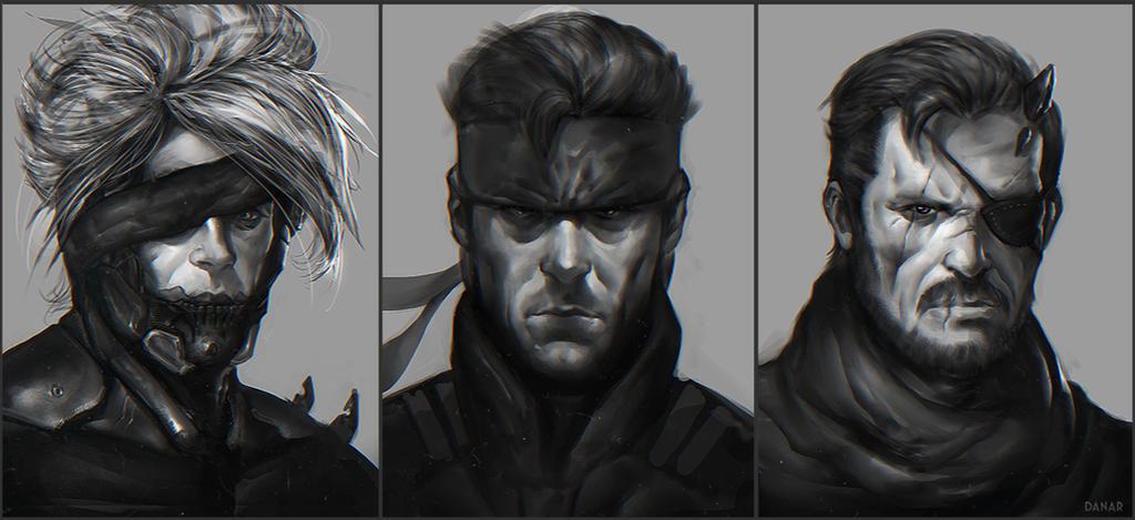 Metal Gear Solid Fan-art by DanarArt