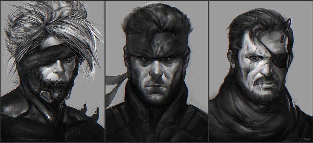 Metal Gear Solid Fan-art