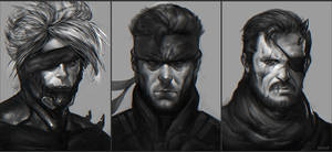 Metal Gear Solid Fan-art