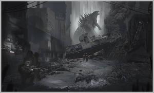 quick Godzilla Fan-art