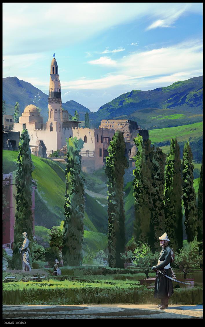 Royal place by DanarArt