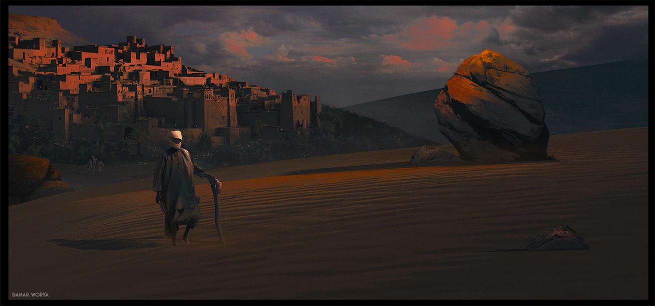 Desert Walker by DanarArt