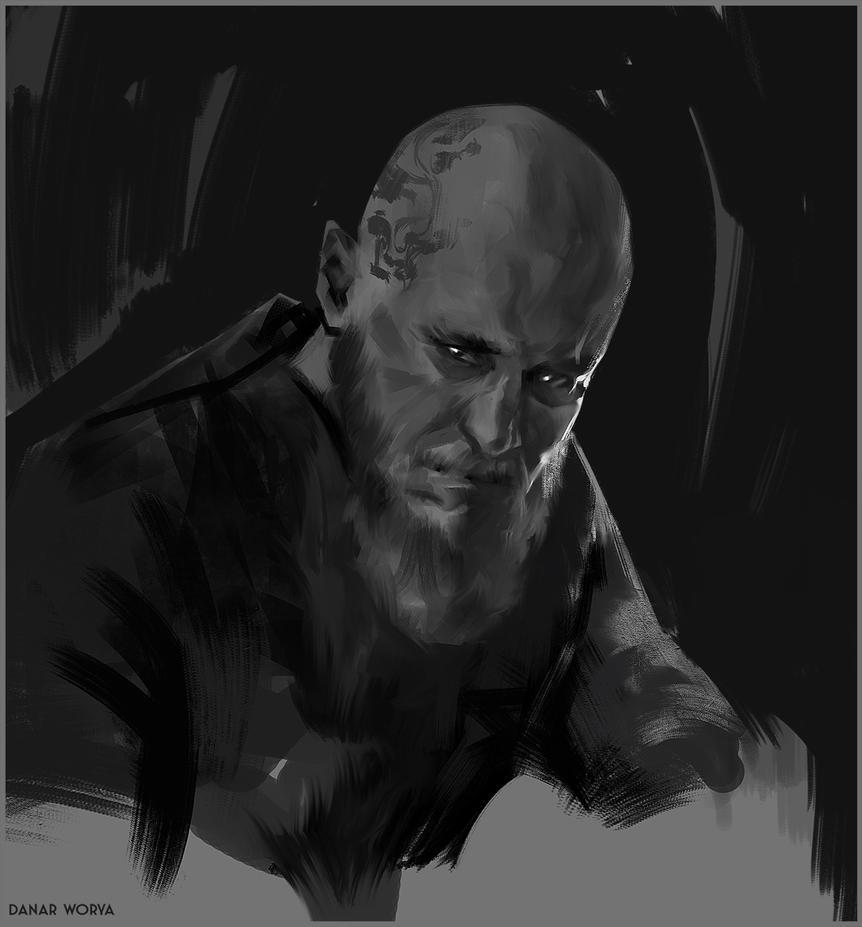 RagnarSketch by DanarArt