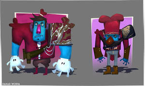 Cheffin Character Design