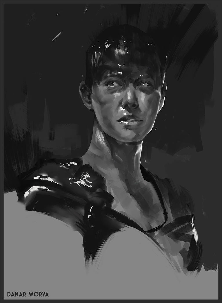 Furiosa 1H Sketch by DanarArt
