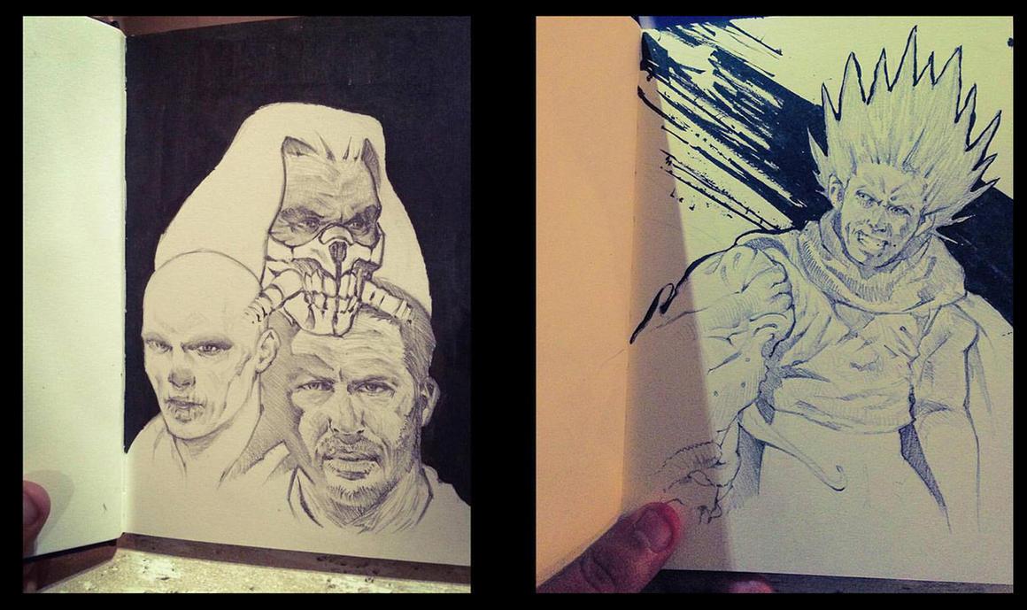 Sketches by DanarArt