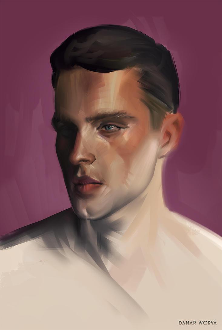 portrait shizz by DanarArt
