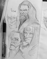 Sketchdump5 by DanarArt