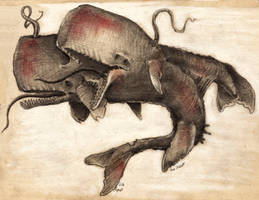 Whale abomination by CultistCarl