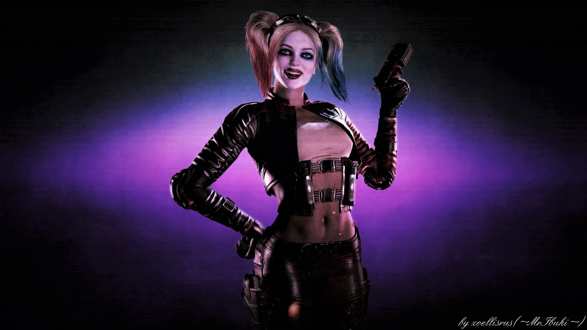 ... Injustice 2 | Harley Quinn Simple Wallpaper by zoellisrus