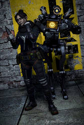 You Want Us? Then Hurry up!   Apex Legends by zoellisrus