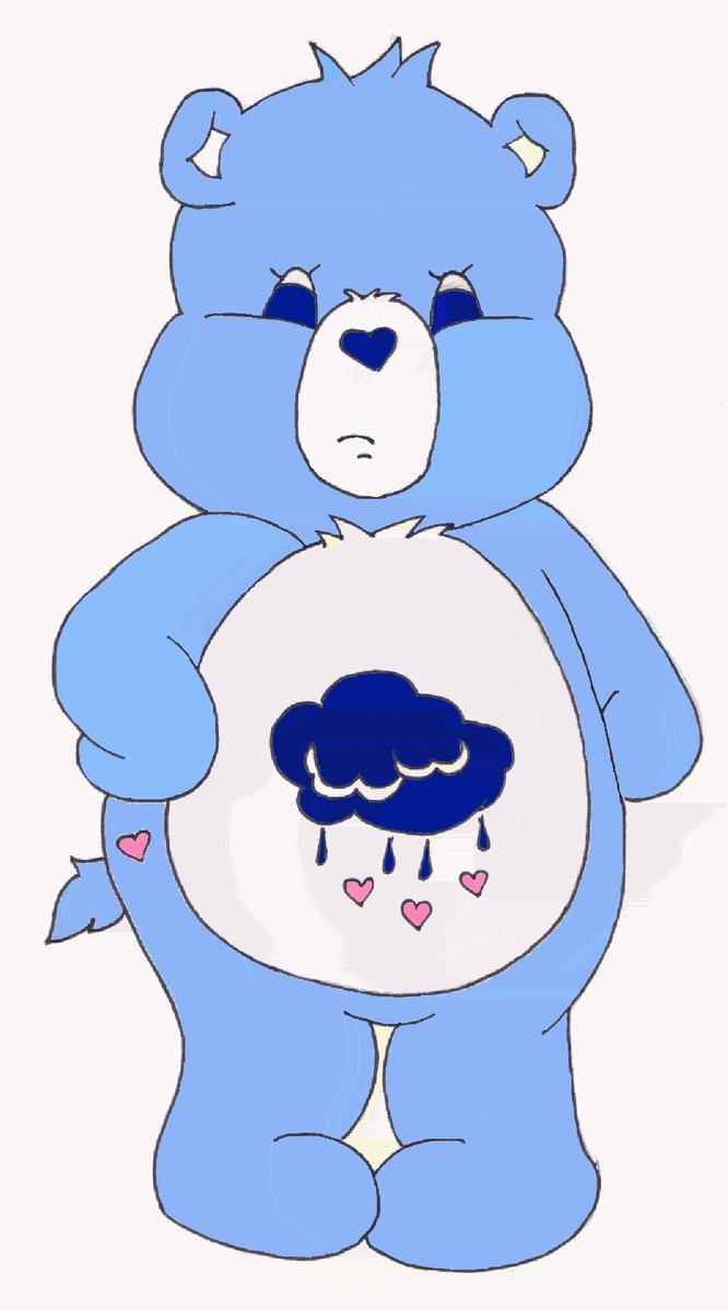 Grumpy Bear by Care-Bear-Club on DeviantArt