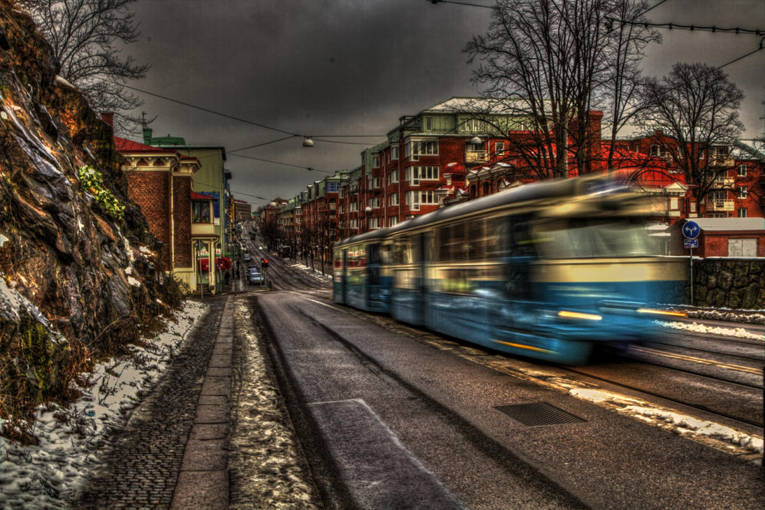 Last Tram to Trancentral by Azph
