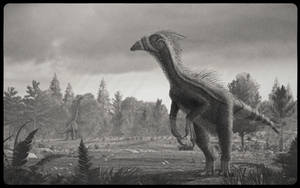 Beipiaosaurus by Steveoc86