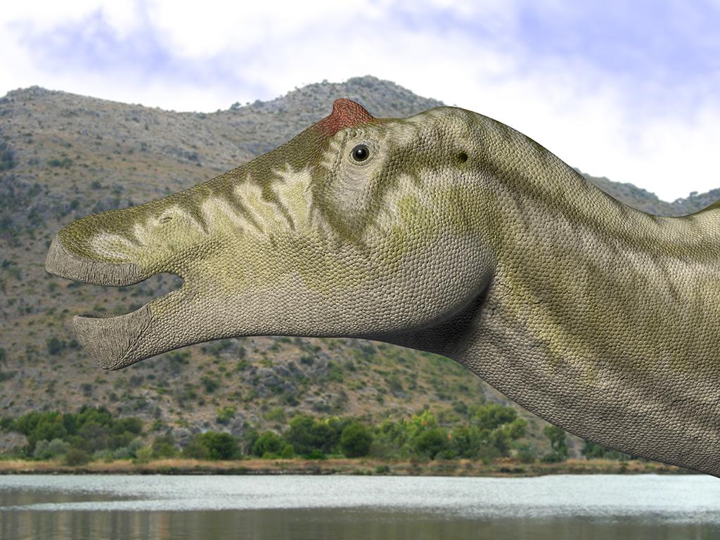 Prosaurolophus Old Version by Steveoc86