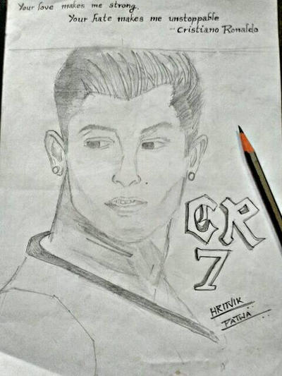Cristiano Ronaldo by Hritvik3