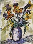 Van Gogh Flower Jar