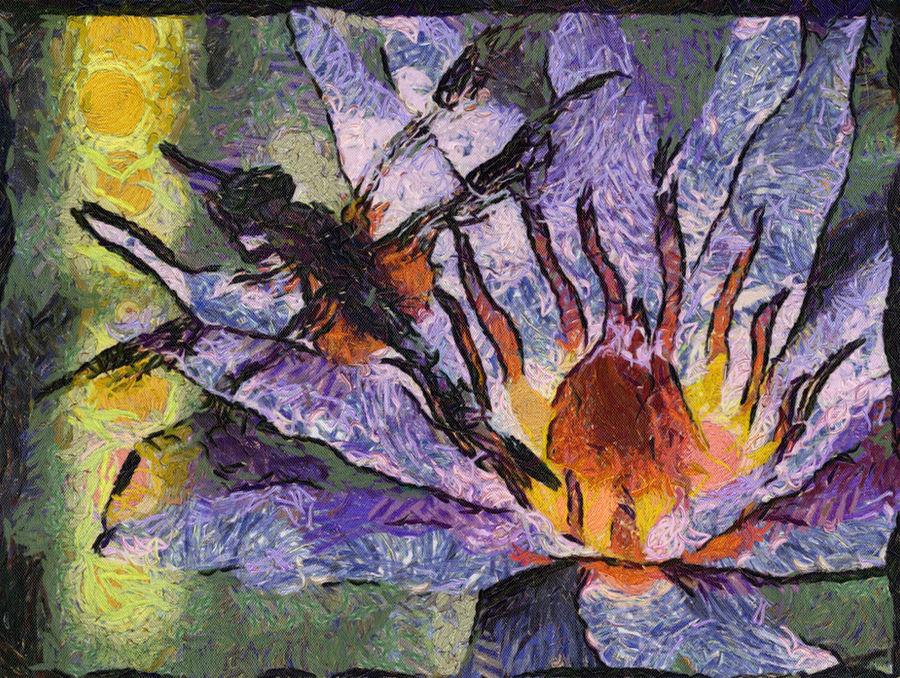 Van Gogh Dragon Fly by diverse-norm