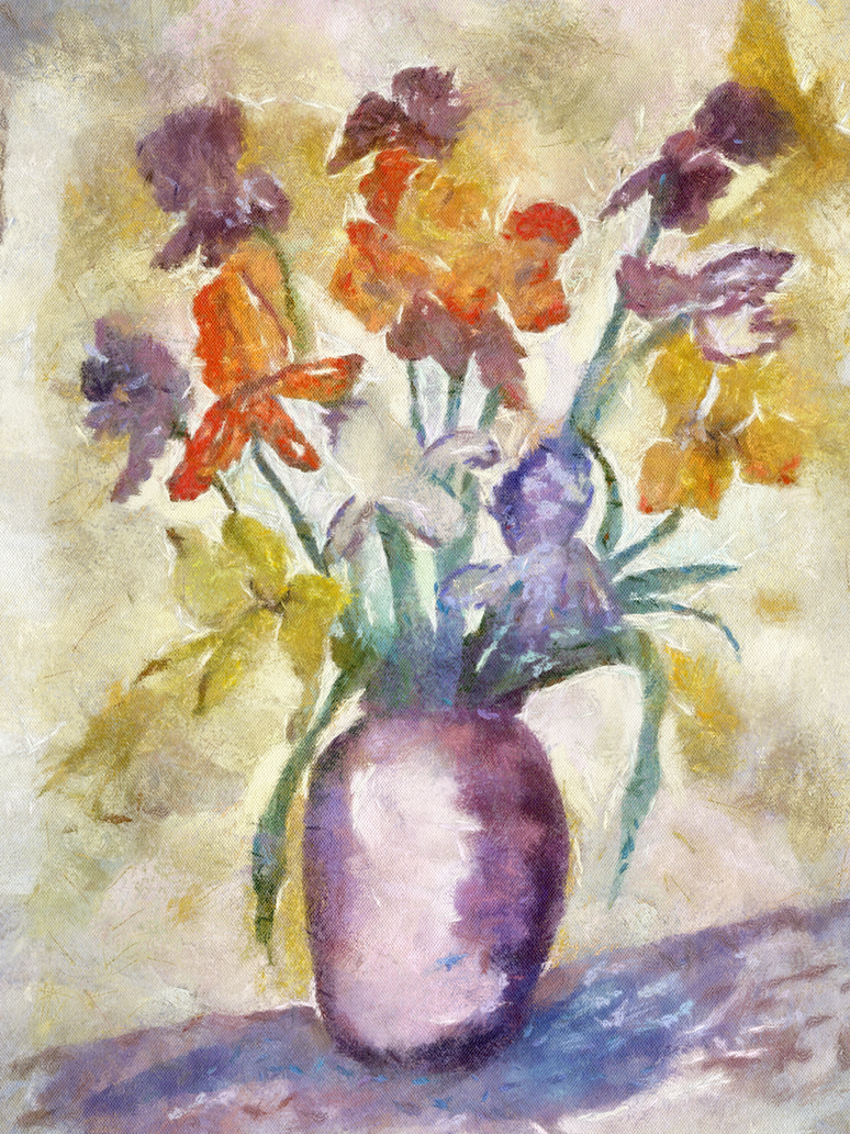 Benson Flower Jar by diverse-norm
