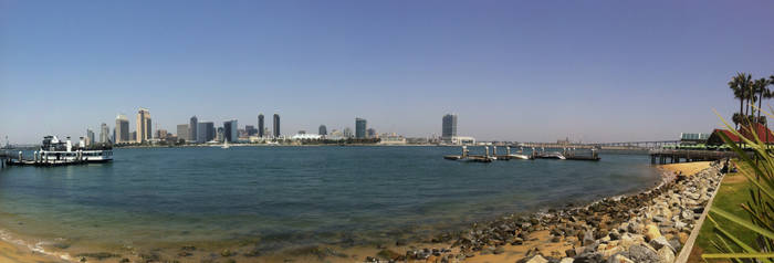 San Diego Panorama by diverse-norm